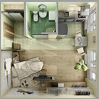 Дизайн квартир малометражных