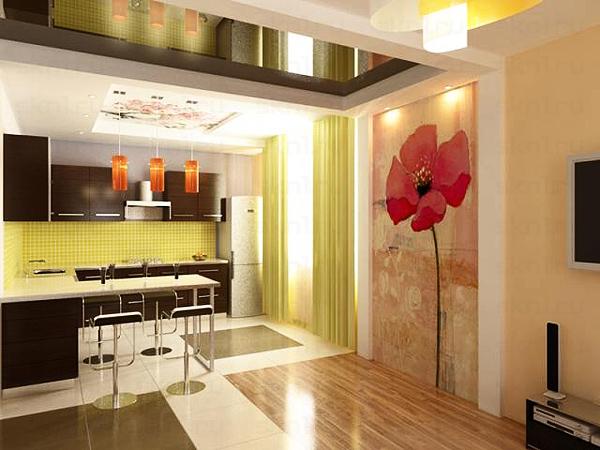 дизайн в квартире студии кухня студия дизайн кухни зоны квартиры